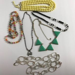 Jewelry - 6 Necklace bundle. 1 Price for all.